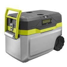 ryobi 18 volt one 50 qt cooling cooler