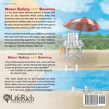 water safety with swimmy 10 water safety rules everyone should follow carolanne caron 9781489707475 amazon books