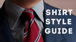 Mens Dress Shirt Style Guide How To Select Fit Collar