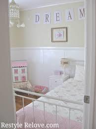 Of Little Girls Bedrooms Restyle Relove Little Girls Pink Bedroom Makeover