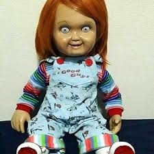 life size chucky doll child play prop replica good guy chucky life size figure doll order
