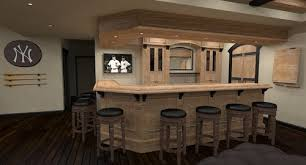 Fine Basement Sports Bar And An Area For Memorabilia Here Is Throughout Design Decorating