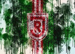 See more news from jahn regensburg. Ssv Jahn Regensburg German Football Club Football Lawn Logo Painting By Sissy Angelastro