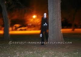 scariest slenderman costume all homemade