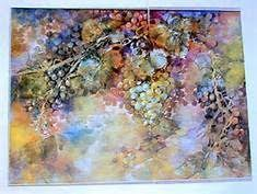 Artist Hilda Palmer | Watercolor fruit, Rose painting, Hand painted roses