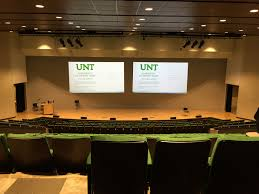 Unt Auditorium Seating Chart Lyceum University Union Classroom Support Services