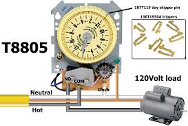 intermatic time clock wiring diagram intermatic how to wire intermatic sprinkler and irrigation timers and manuals on intermatic time clock wiring diagram