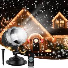 Snowfall Lights Amazon Christmas Snowfall Projector Lights Syslux Indoor Outdoor Holiday Lights With Remote Control Rotatable White Snow For Halloween Xmas Wedding Home