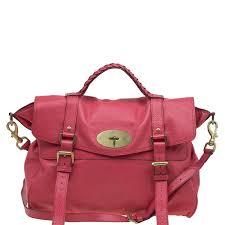 mulberry red leather oversized alexa satchel nextprev prevnext