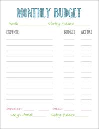 easy budget form simple budget forms under fontanacountryinn com
