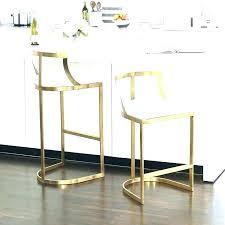 furniture modern hart grey velvet counter stool stools backless