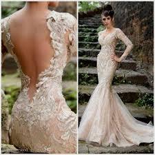 champagne wedding dress with sleeves naf dresses