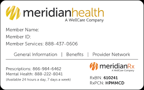 Plans Insurance Meridian Health Our