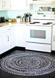 black kitchen rugs black and white round braided rug for kitchen black kitchen rug black kitchen rugs