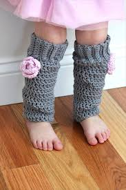 baby girl crochet leg warmer