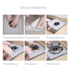 <b>Non</b>-<b>Stick Stove</b> Counter Gap Cover for Kitchen/Cooking Lesgos ...