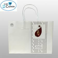 cheap whole paper shopping bags custom logo design see larger image