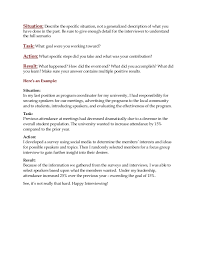 Star Interview Answers Examples Interview Tip Use The Star Method To Give Relevant And Specific Answ