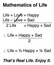 Mathematics Of Life Quotesthoughts Daily Inspirations For Mesmerizing Quotes Related With Life