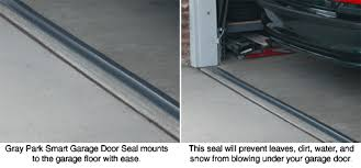 park smart tsunami seal garage door seal