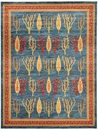small size of rugs area rug blue x kashkuli gabbeh round 7 oriental hand knotted wool