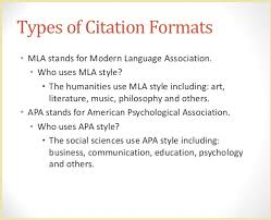 Mlas Format There S A Contrast Between Apa And Mla Cite 4 Me
