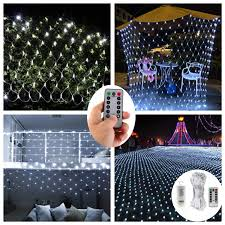Battery Net Lights Dealbeta Led Net Lights With Remote 9 8ft X 6 6ft 200 Leds Net Mesh Tree Wrap Lights Battery Operated 8 Modes Dimmable String Lights For Party