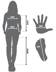 Womens Size Chart And Fit Instructions Speed Strength