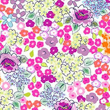 Flower Printed Paper Amazon Com Vibrant Field Flowers Printed Tissue Paper For
