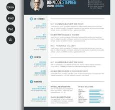 Excellent Cv Best Free Resume Templates In Word Formats Template Cv Design