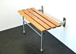 fold down shower bench teak fold down shower seat fold shower seat