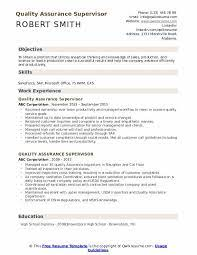 Resume examples see perfect resume examples that get you jobs. Quality Assurance Supervisor Resume Samples Qwikresume