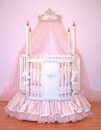 pink baby furniture. alexa round crib linens pink baby furniture t