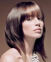 حلاقة الشعر لوجه مستدير لشعر جامح حلاقة العصرية للوجه