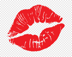 red kiss mark kiss ation goodbye