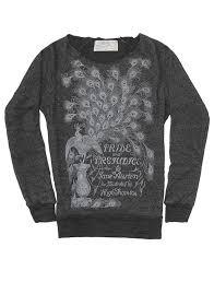 pride and prejudice women s book sweatshirt out of print pride and prejudice sweatshirt