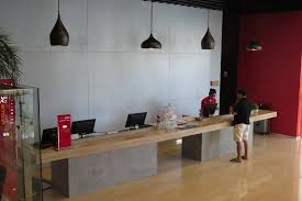 Front Office Designs Amazing Reception And Front Desk Picture Of Ibis Jakarta Harmoni Jakarta