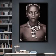 2019 Nordic Style <b>Poster</b> Canvas <b>Prints</b> Modern Pictures African ...