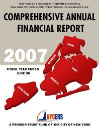 Comprehensive Annual Financial Report Nycers