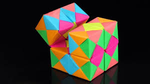 how to make a paper infinity cube origami infinity cube diy paper infinity cube diy