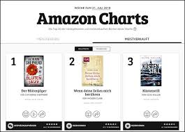 Germany And The Uk Now Have Amazon Charts Fiction And