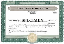 Example Of Share Certificate Fascinating 48 Share Stock Certificate Templates PSD Vector EPS Free