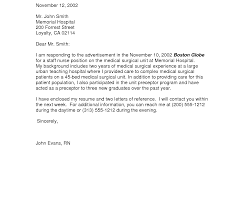 Job Cover Letter Template Application Sample Doc Teaching Format