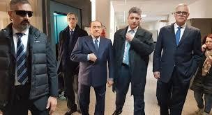 Berlusconi a Tempio per il processo sulle foto