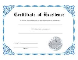 Free Printable Perfect Attendance Certificate Template Fascinating Award Certificate Template Printable Best Of Excellence Professional