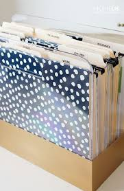 everyone needs a file system files that need to be used frequently can live on your desk in something like this i like that it s flat rather than