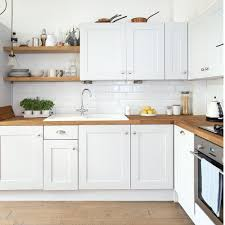 modern white kitchens ikea. Simple Modern Modern White Kitchen With Wooden Floor And Worktops Inside White Kitchens Ikea