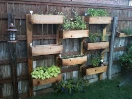 furniture creative diy vertical fence mounted garden planter bo using cedar wood for backyard garden house ideas wood garden box