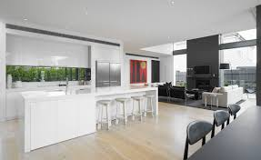 Caesarstone products for countertop contemporary kitchen island ideas plus  chairs and cabinets with fridge for kitchen