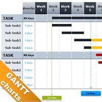 Free Gnatt Chart Free Gantt Chart Template For Powerpoint Gantt Chart Gantt Chart